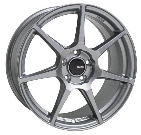 Enkei 516-780-4445gr | TFR 17x8 5x112 45mm Offset 72.6 Bore Diameter Storm Gray Wheel
