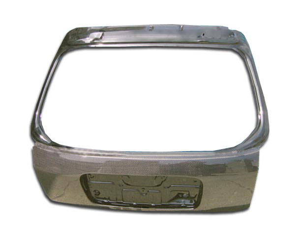 Carbon Creations 102877 | Honda Civic HB Carbon Creations OEM Trunk 1-Piece; 1996-2000