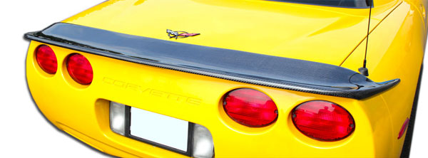 Carbon Creations 106894: 1997-2004 Chevrolet Corvette C5 Carbon Creations CV-G Wing Trunk Lid Spoiler - 1 Piece