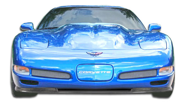 Carbon Creations 106144: 1997-2004 Chevrolet Corvette C5  Vortex Front Lip Under Spoiler Air Dam - 1 Piece