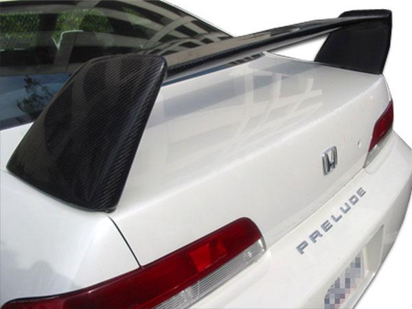 Duraflex 100320 | Acura RSX Honda Prelude Duraflex Type R Rear Wing Trunk Lid Spoiler 1-Piece; 1997-2006
