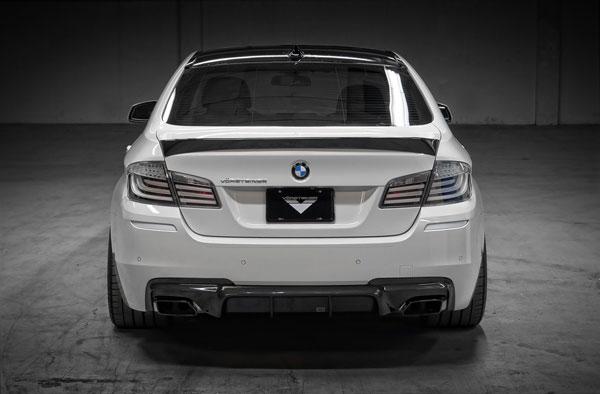 Vorsteiner 9801BMV    BMW F10 5 Series VRS Aero Decklid Spoiler Carbon Fiber PP 1x1 Glossy; 2010-2016