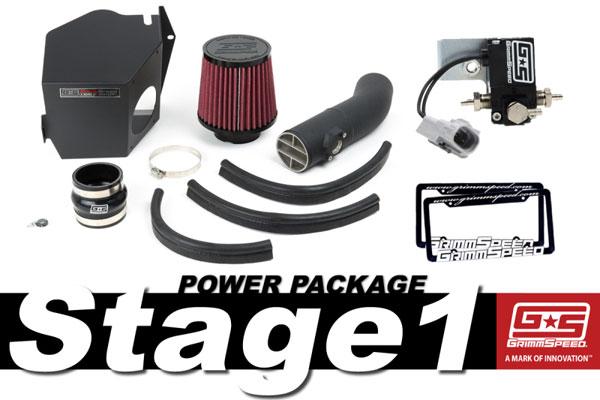 GrimmSpeed 191004   Grimmspeed Stage 1 Power Package - 08-14 Subaru STI; 2008-2014