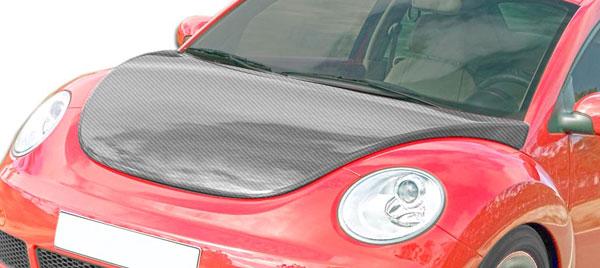 Carbon Creations 106332 | 1998-2005 Volkswagen Beetle Carbon Creations OEM Hood - 1 Piece
