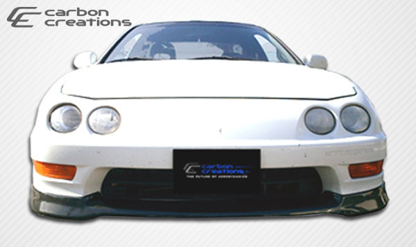 Carbon Creations (102746) 1998-2001 Acura Integra Carbon Creations Type R Front Lip Under Spoiler Air Dam - 1 Piece