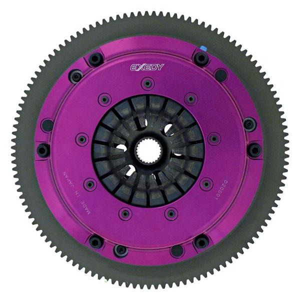 Exedy Racing HH03SBMC   Exedy Hyper Single Carbon-R Clutch Kit ACURA RSX L4 2; Rigid Disc; Push Type; 2002-2006