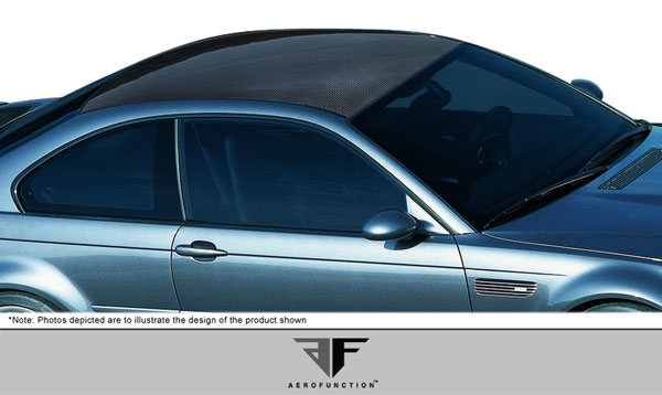 Aero Function (107637)  2001-2006 BMW 3 Series M3 E46 2DR Carbon AF-1 Hard Top Roof ( CFP ) - 1 Piece