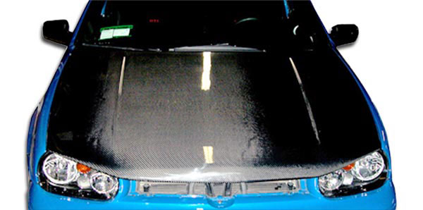 Carbon Creations 102726: 1999-2005 Volkswagen Golf GTI Carbon Creations Boser Hood - 1 Piece