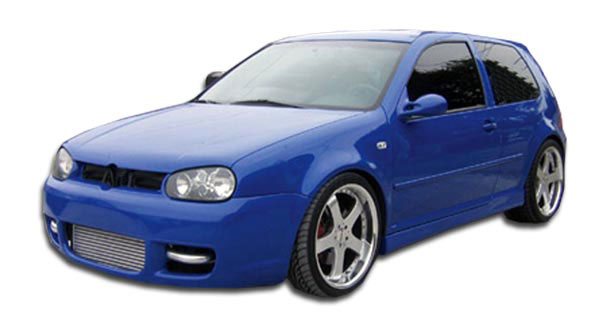 Couture 102594: 1999-2005 Volkswagen Golf GTI 2DR Couture R32 Side Skirts Rocker Panels - 2 Piece