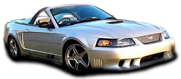 Couture 104782 | Ford Mustang Couture Colt Body Kit 5-Piece; 1999-2004
