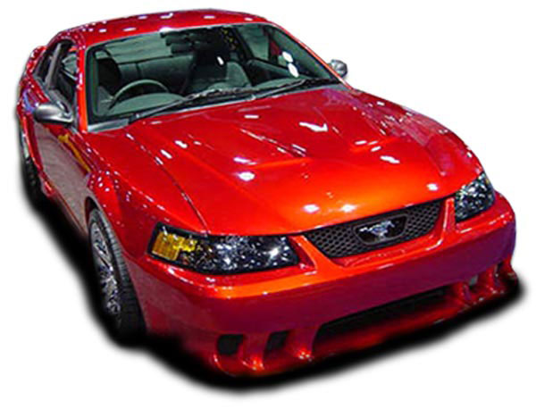 Couture (104403) 1999-2004 Ford Mustang Couture Colt Front Bumper Cover - 1 Piece