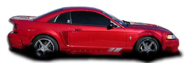 Couture 104404: 1999-2004 Ford Mustang Couture Colt Side Skirts Rocker Panels - 2 Piece