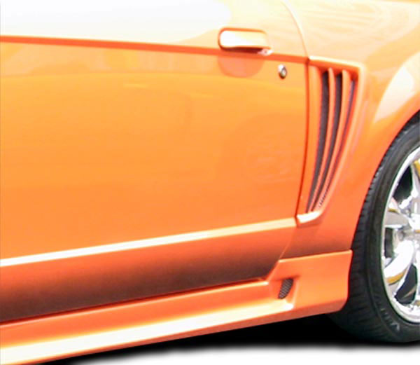 Couture 105802 | Ford Mustang Couture Colt Side Scoop 2-Piece; 1999-2004