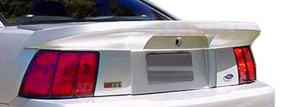 Couture 104781: 1999-2004 Ford Mustang Couture Colt Wing Trunk Lid Spoiler - 1 Piece