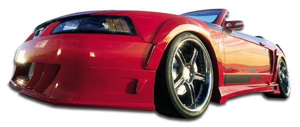 Couture 104786 | Ford Mustang Couture Demon Front Fender Flares 2-Piece; 1999-2004