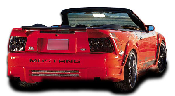 Couture 104785: 1999-2004 Ford Mustang  Demon Rear Bumper Cover - 1 Piece