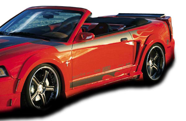 Couture (104784) 1999-2004 Ford Mustang Couture Demon Side Skirts Rocker Panels - 2 Piece