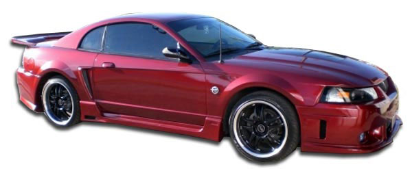 Couture 105798 | Ford Mustang Couture Special Edition Side Skirts Rocker Panels 2-Piece; 1999-2004