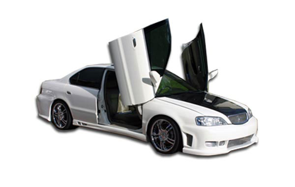 Duraflex (102054) 1999-2003 Acura TL Duraflex Spyder Side Skirts Rocker Panels - 2 Piece