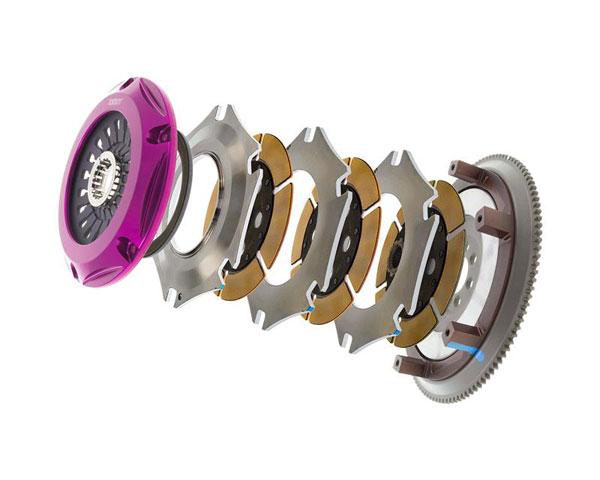 Exedy Racing MM063SB | Exedy Hyper Triple Cerametallic Clutch Kit MITSUBISHI LANCER L4 2; Rigid Disc; Pull Type; 2008-2015