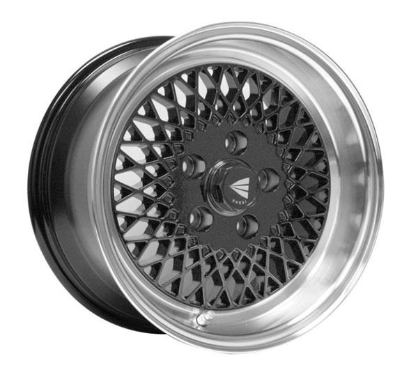 Enkei 465-570-4938bk   92 Classic Line 15x7 38mm Offset 4x100 Bolt Pattern Black Wheel