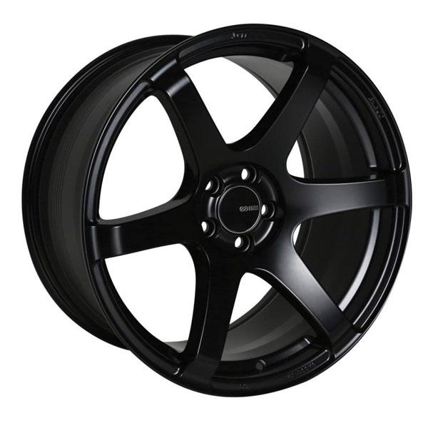 Enkei 485-790-8045bk | T6S 17x9 45mm Offset 5x100 Bolt Pattern 72.6 Bore Matte Black Wheel