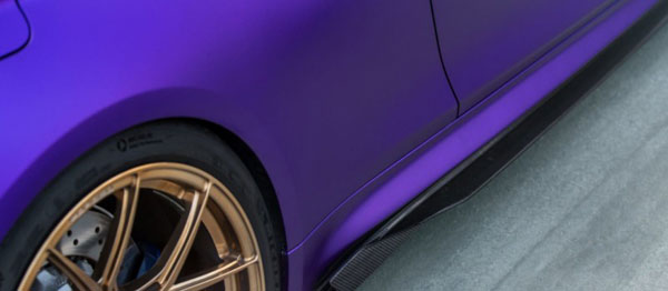 Vorsteiner 4230bmv | BMW F8X M4 VRS GTS-V Aero Side Skirts Carbon Fiber PP 2X2 Glossy; 2014-2020