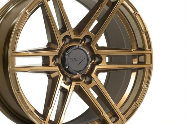 Vorsteiner vr602.17090.6135.12c.87.hb   Venom Rex 602 17x9.0 6x135 12C Highland Bronze