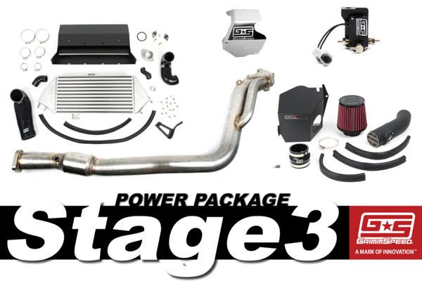 GrimmSpeed 191003   Grimmspeed Stage 3 Power Package - 08-14 Subaru WRX; 2008-2014
