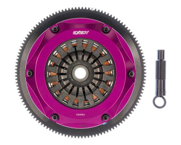 Exedy Racing HM012SD | Exedy Hyper Twin Cerametallic Clutch Kit ACURA NSX V6 3.2; Req. Trans. Input Shaft; 1997-2005