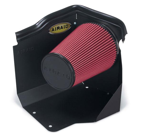 Airaid 200-112-1 | AirAid Sierra 3500 2500 1500 Classic (99-07) 4.3L, 4.8L, 5.3L / (99-04) 6.0L LOW HOOD w/o Intake Tube; 1999-2007