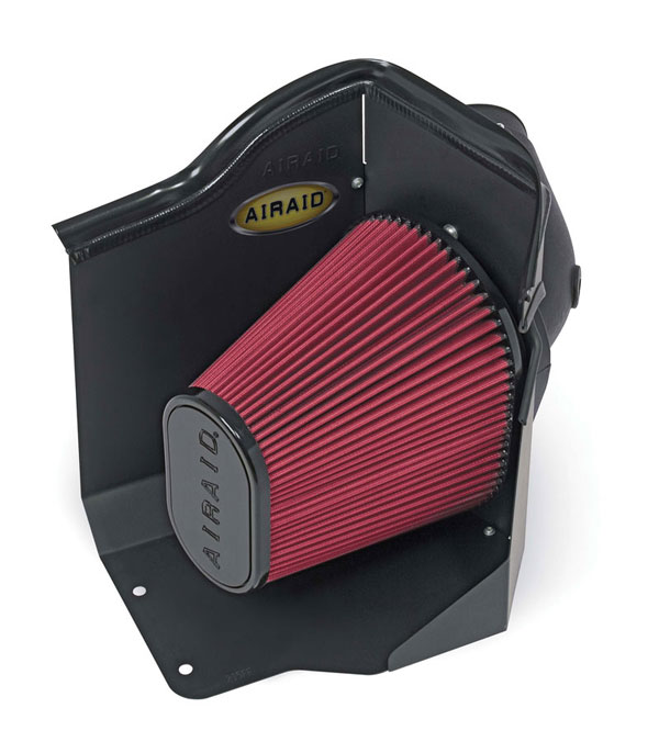 Airaid 200-215: AirAid 07-10 GMC Duramax Sierra Silverado 2500HD 3500 6.6L LMM engine Intake System Air Box Only