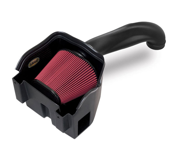 Airaid 301-277 | AirAid Dodge Ram 5.7L Hemi MXP Air Intake System - Red Dry Synthetic Premium Air Filter; 2013-2017