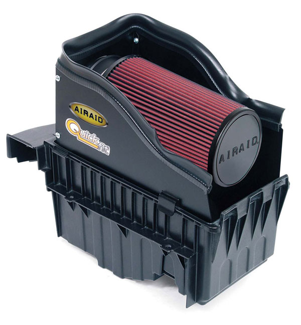 Airaid 400-122: AirAid 99-03 Ford Power Stroke 7.3L DSL*12/07/98 and later Intake System