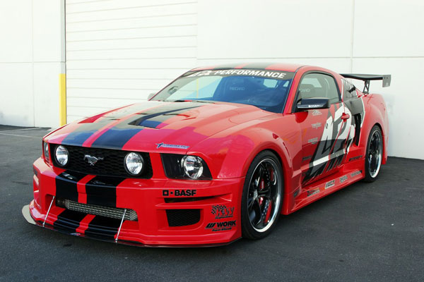 mustang gt kit widebody s197 performance apr ab gt500 diffuser body rear ford 2005 aerodynamic 2009 wide cart steeda parts