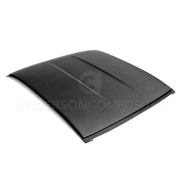 Anderson Composites AC-CR1011CHCAM-DRY:  CAMARO DRY CARBON ROOF REPLACEMENT MATTE FINISH, 2010-2015