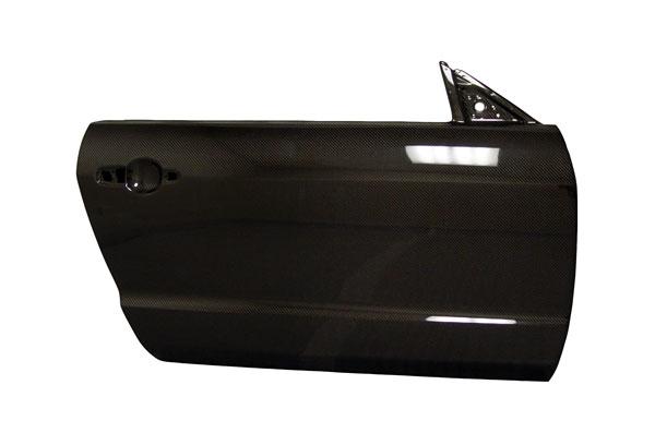 Anderson Composites AC-DD0506FDMU | Mustang Carbon Fiber Doors (Pair); 2005-2009