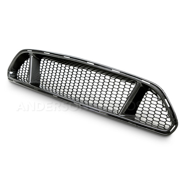 Anderson Composites AC-FG15FDMU-GT |  Mustang Carbon Fiber Front Upper Grille Type-Gt, 2015+