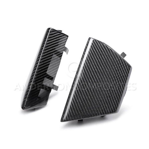 Anderson Composites AC-FGI15MU350 |  Mustang Shelby GT350 Carbon Fiber Grille Inserts; 2015-2018