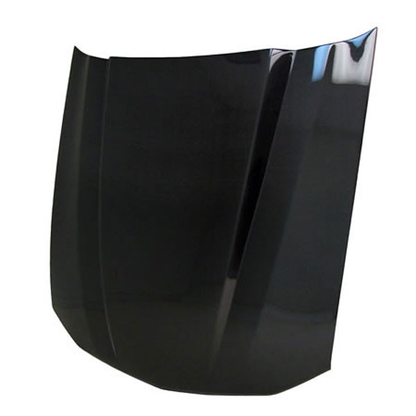 Anderson Composites (AC-HD0506FDMU-CL)  Mustang Carbon Fiber Hood 2.5 Inch Cowl, 2005-2009