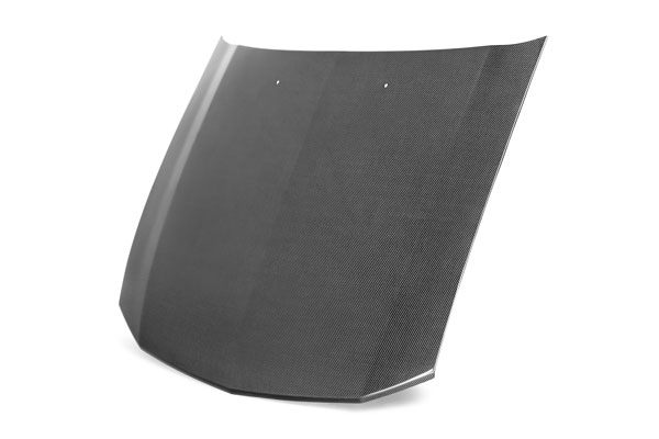 Anderson Composites AC-HD0506FDMU-OE: MUSTANG CARBON FIBER HOOD, 2005-2009