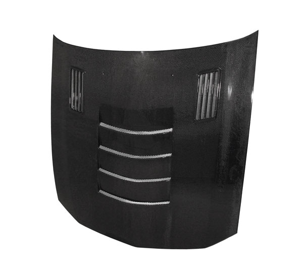 Anderson Composites AC-HD0506FDMU-SSII | Mustang Carbon Fiber Hood Type-Ssii; 2005-2009