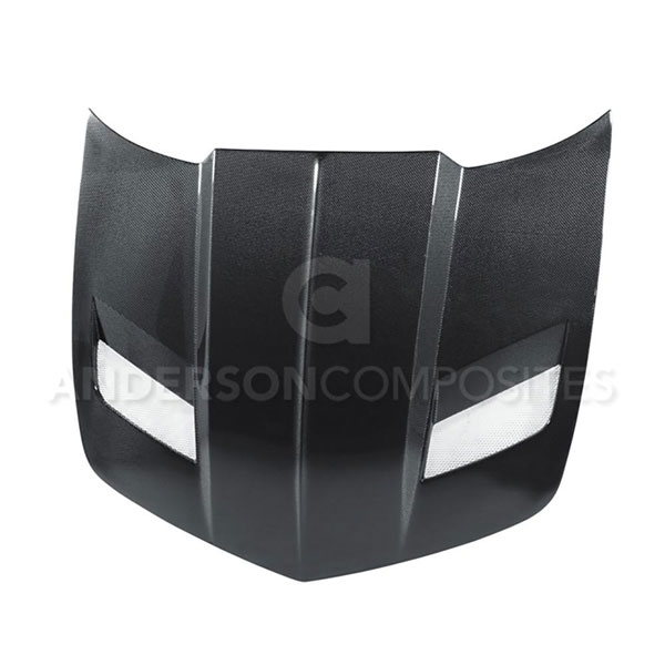 Anderson Composites AC-HD1011CHCAM-BBII |  Camaro Carbon Fiber Hood Type-BBII; 2010-2013