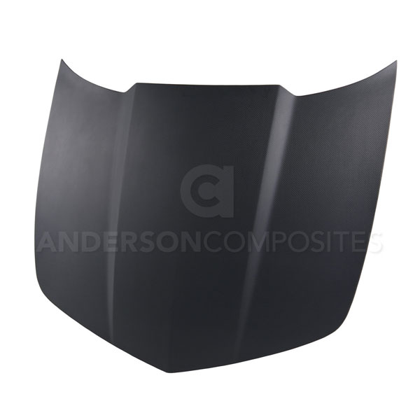 Anderson Composites AC-HD1011CHCAM-OE-DRY: CAMARO DRY CARBON HOOD MATTE FINISH TYPE-OE, 2010-2013