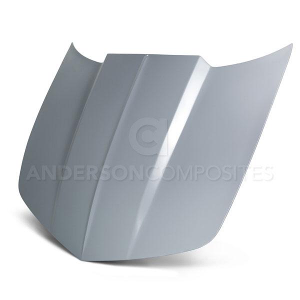 Anderson Composites AC-HD1011CHCAM-RA-GF |  Camaro Type-RA Fiberglass Hood; 2010-2015