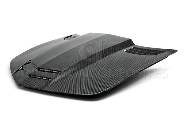 Anderson Composites AC-HD1011CHCAM-TT |  Camaro Carbon Fiber Hood Type-TT; 2010-2015