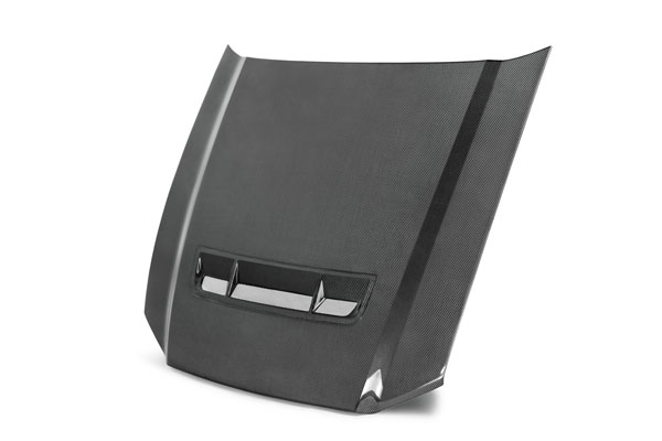 Anderson Composites AC-HD1011FDMU-GT |  Mustang / Shelby Gt500 And Gt/V6 Carbon Fiber Hood Gt500 Style Type-Gt; 2010-2014