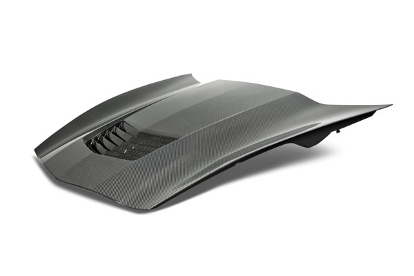 Anderson Composites AC-HD14CHC7-OE | Corvette C7 Stingray Carbon Fiber Hood Type-OE; 2014-2018