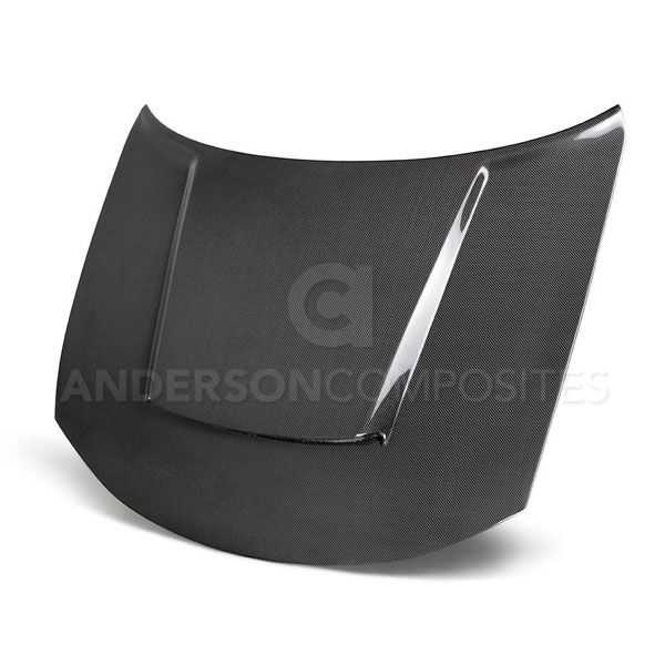 Anderson Composites AC-HD15DGCR-DM | Dodge Charger Demon Style TYPE-DM Carbon Fiber Hood; 2015-2018