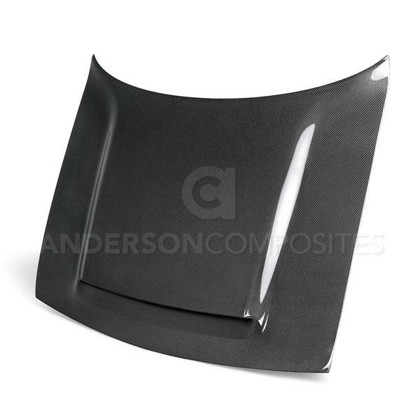 Anderson Composites AC-HD18DGCHDM-OE | Challenger Demon TYPE-OE Carbon Fiber Hood; 2008-2020